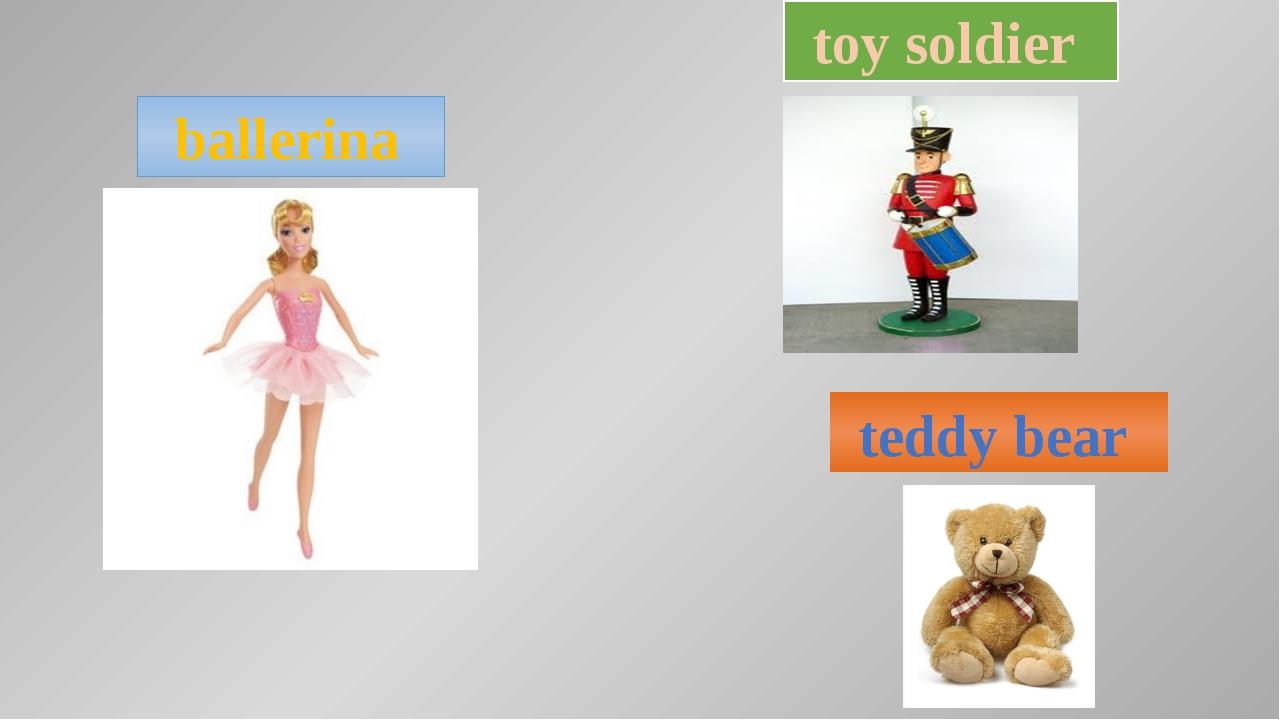 ballerina toy soldier teddy bear