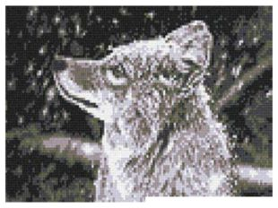 Компьютерная графика «Первый снег»