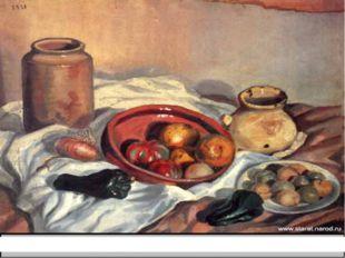 Сальвадор Дали «Натюрморт», 1918. Холст, масло.