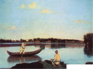 СОРОКА Григорий Васильевич Рыбаки. Ок. 1847. Масло