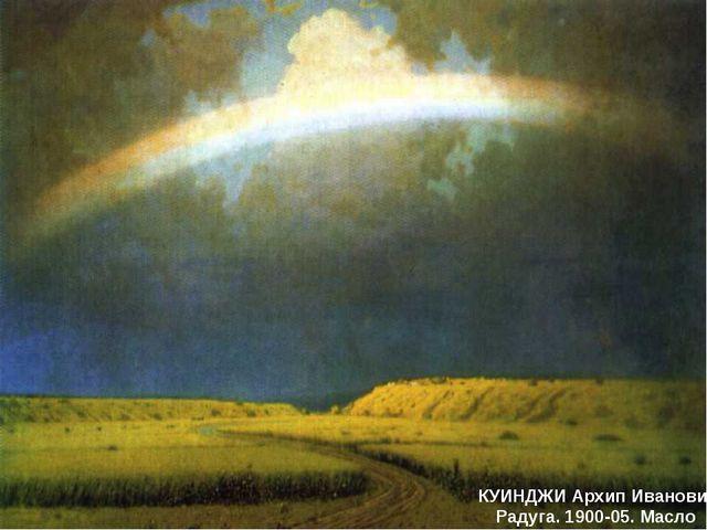 КУИНДЖИ Архип Иванович Радуга. 1900-05. Масло