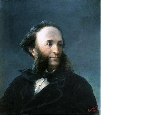 Иван Айвазовский 1874 автопортрет