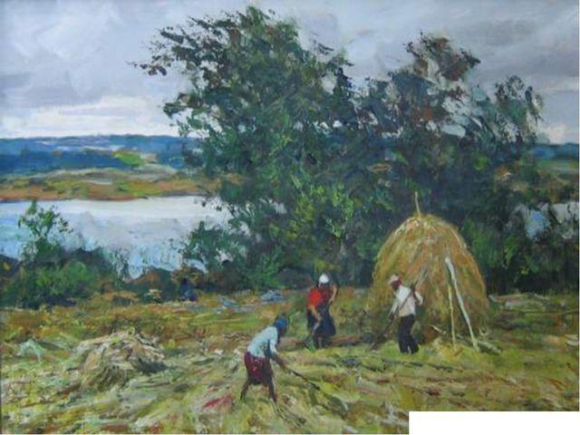 И. Симонов «Сенокос»