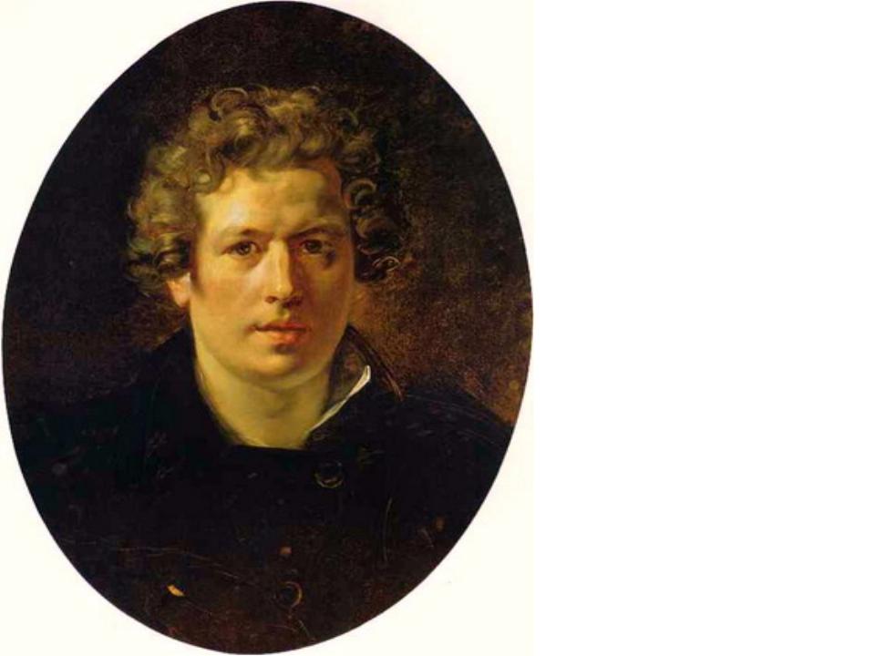 Карл Брюллов 1834 автопортрет