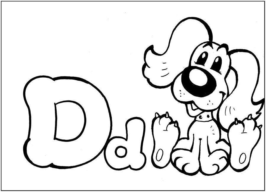 Буква в на английском раскраска