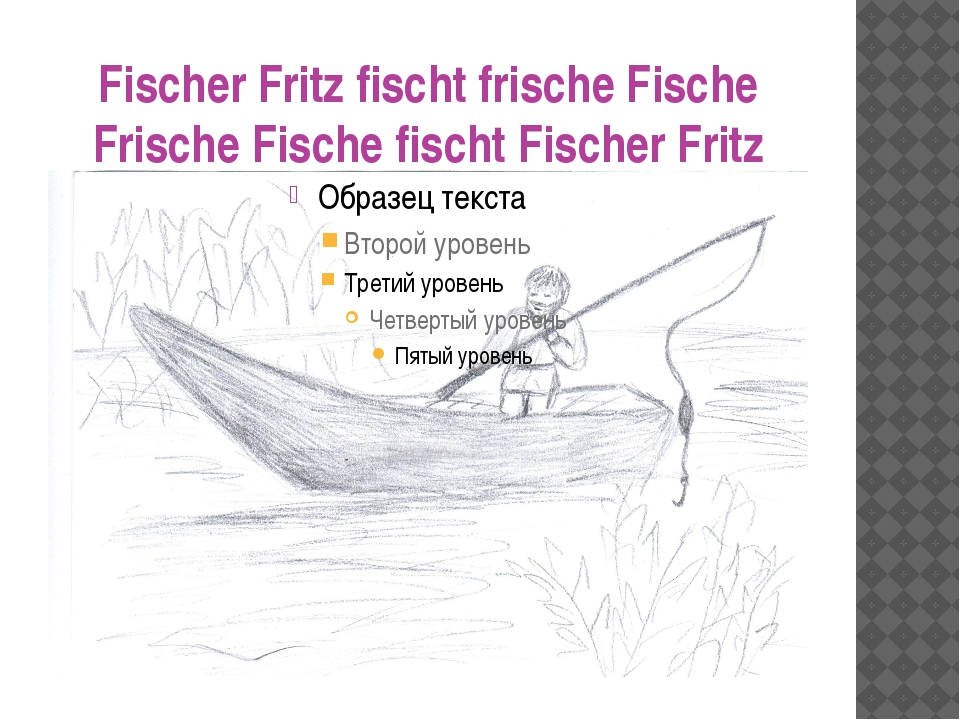 Fischer Fritz fischt frische Fische Frische Fische fischt Fischer Fritz