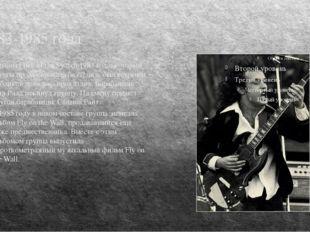 1983-1985 года Альбом Flick of the Switch 1983 года, который группа продюсиро