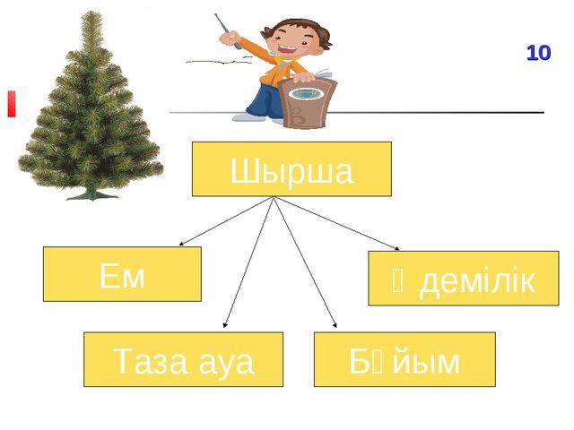 Шырша Ем Әдемілік Таза ауа Бұйым 10