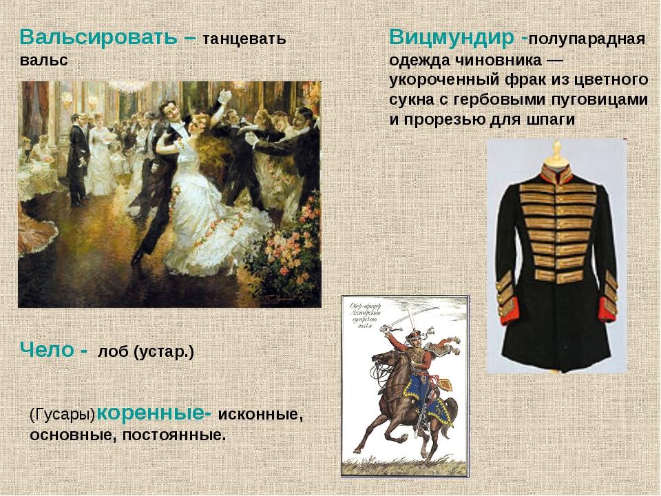 Вицмундир -полупарадная одежда чиновника — укороченный фрак из цветного сукна...