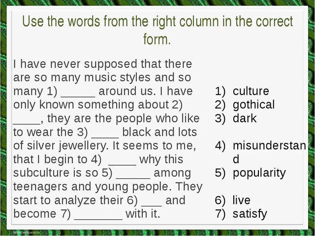 match the attitudes (1-5) with the statements (A-F). Which speaker says that...