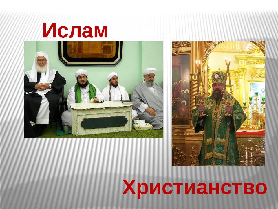 Ислам Христианство