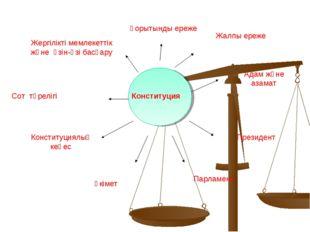 Конституция Жергілікті мемлекеттік және өзін-өзі басқару Сот төрелігі Констит