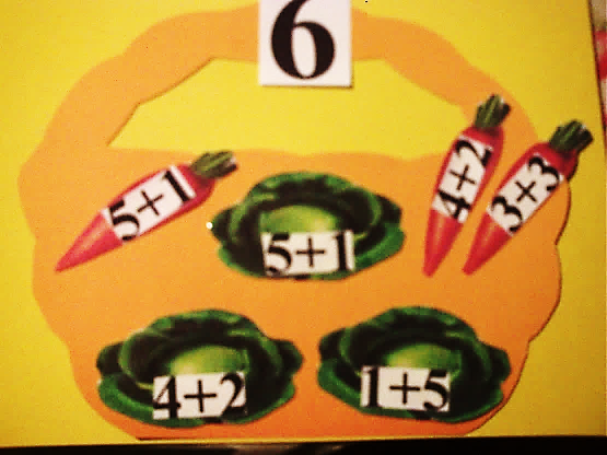 Дидактическая игра «Соберем урожай»