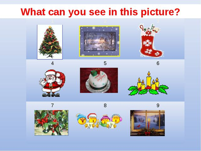 What can you see in this picture? 123 456 789