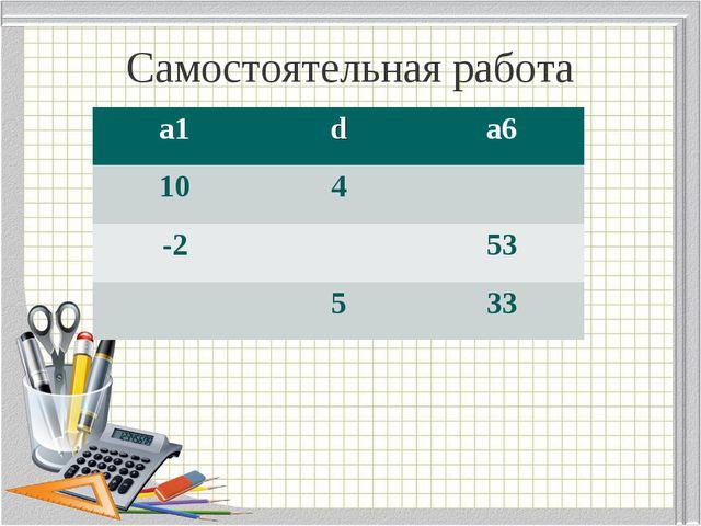 Самостоятельная работа а1da6 104 -253 533
