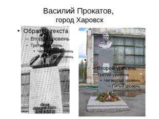 Василий Прокатов, город Харовск
