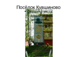 Посёлок Кувшиново