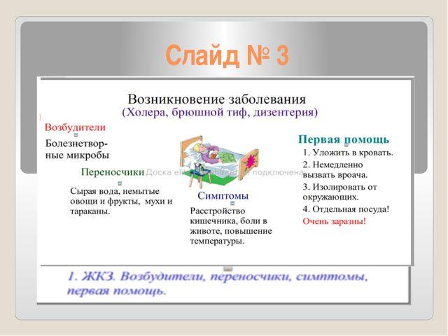 Слайд № 3