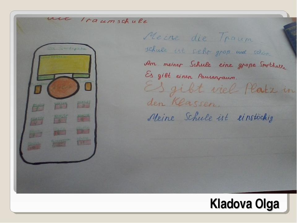 Kladova Olga