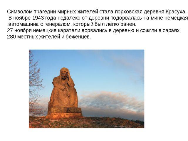 Символом трагедии мирных жителей стала порховская деревня Красуха. В ноябре 1...