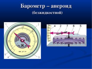 Барометр – анероид (безжидкостной)