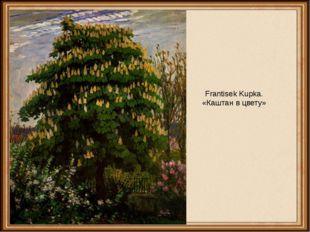 Frantisek Kupka. «Каштан в цвету»