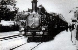 Первый фильм братьев Люмьер «Прибытие поезда на вокзал Ла-Сиоты ». 1895 г.