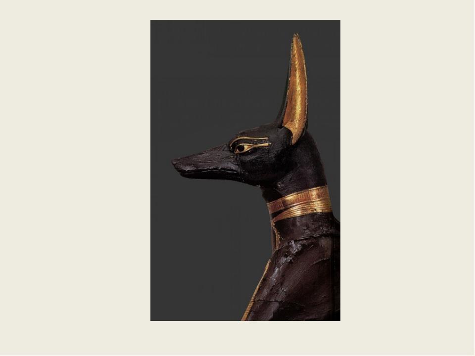 Анубис- бог, покровитель мертвых, изображался в образе шакала или человека с...