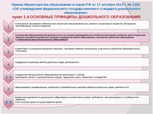Приказ Министерства образования и науки РФ от 17 октября 2013 г. № 1155 «Об у