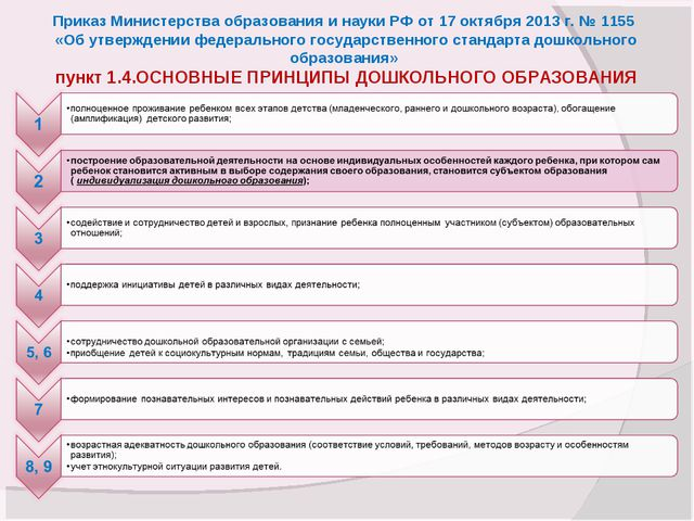 Приказ Министерства образования и науки РФ от 17 октября 2013 г. № 1155 «Об у...
