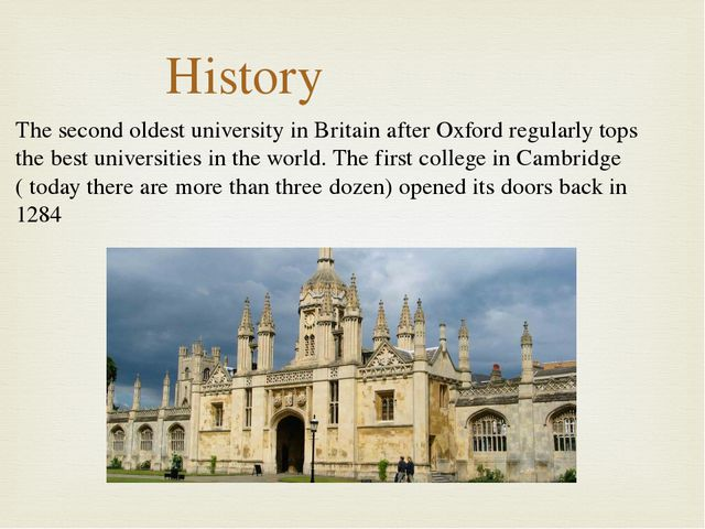 The second oldest university in Britain after Oxford regularly tops the best...