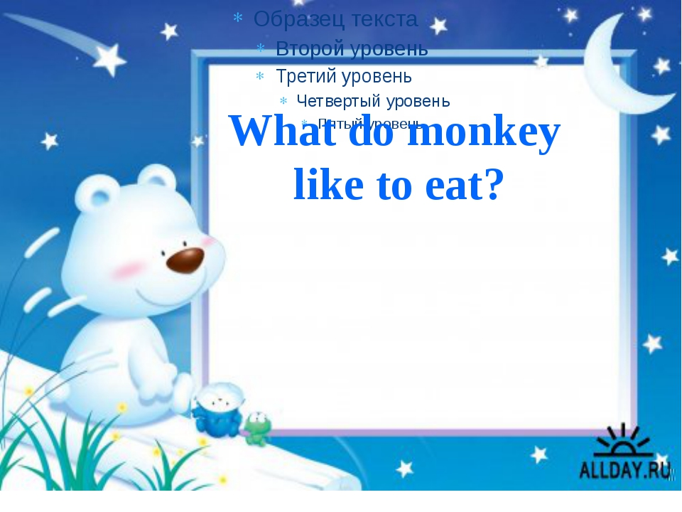What do monkey like to eat?