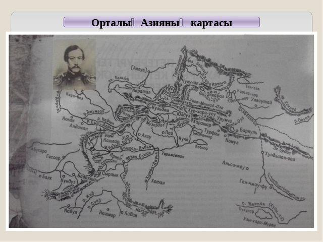 Орталық Азияның картасы