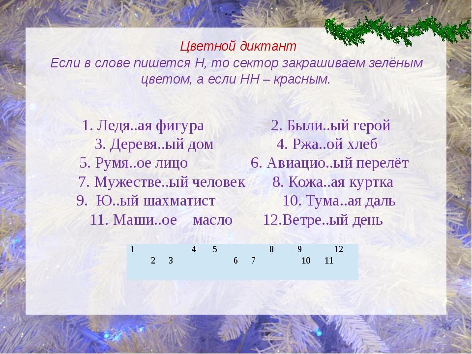 1. Ледя..ая фигура 2. Были..ый герой 3. Деревя..ый дом 4. Ржа..ой хлеб 5. Рум...