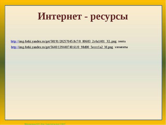 Интернет - ресурсы http://img-fotki.yandex.ru/get/58191/28257045.8c7/0_80683_...