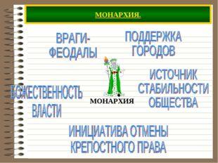 МОНАРХИЯ.