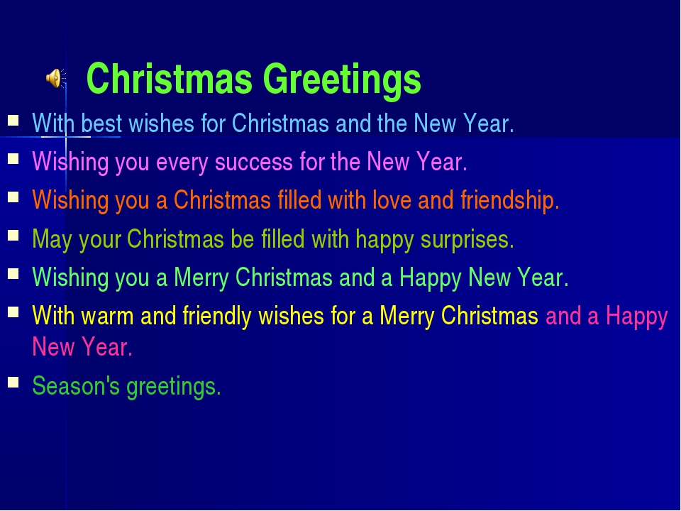 Christmas Greetings With best wishes for Christmas and the New Year. Wishing...