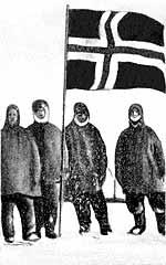 норвежцы на южном полюсе