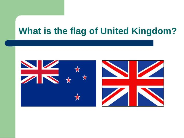 What is the flag of United Kingdom?