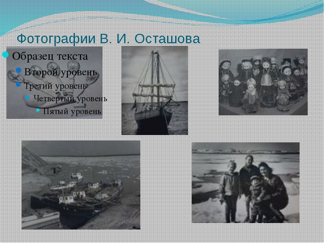 Фотографии В. И. Осташова