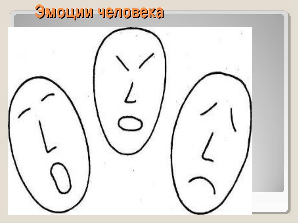 Эмоции человека