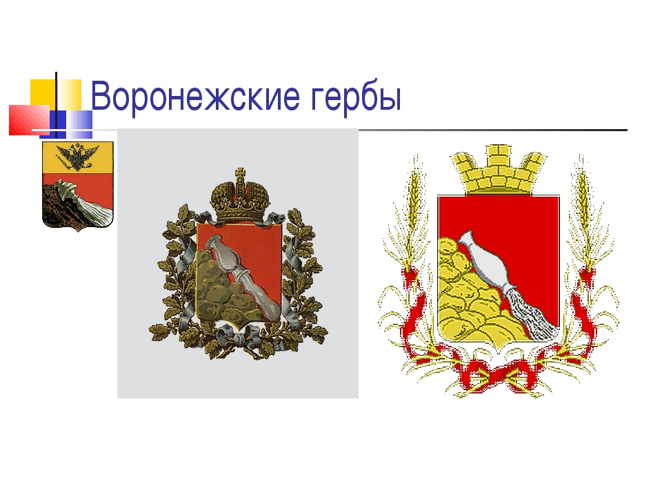 Воронежские гербы