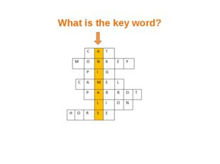 What is the key word?