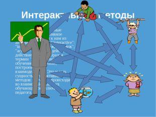 """Интерактивные методы Термины """"интерактивные методы"""", """"интерактивное обучение"""""""