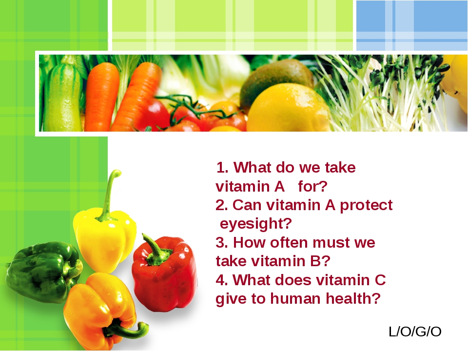 1. What do we take vitamin A for? 2. Can vitamin A protect eyesight? 3. How...