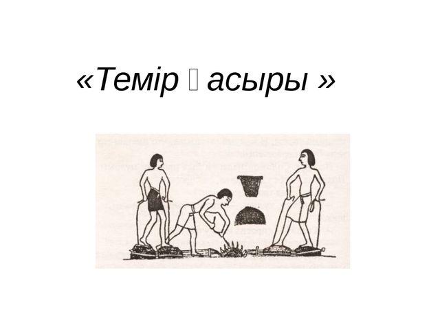 «Темір ғасыры »