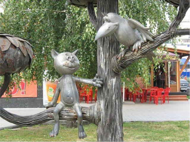 Улица получила широкую известность благодаря котенку из мультика. На улице Г...