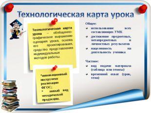 Общее: использование всех составляющих УМК достижение предметных, метапредмет