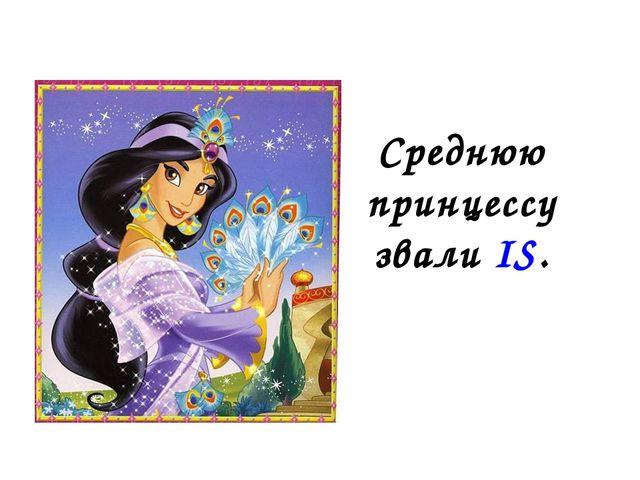 Среднюю принцессу звали IS.