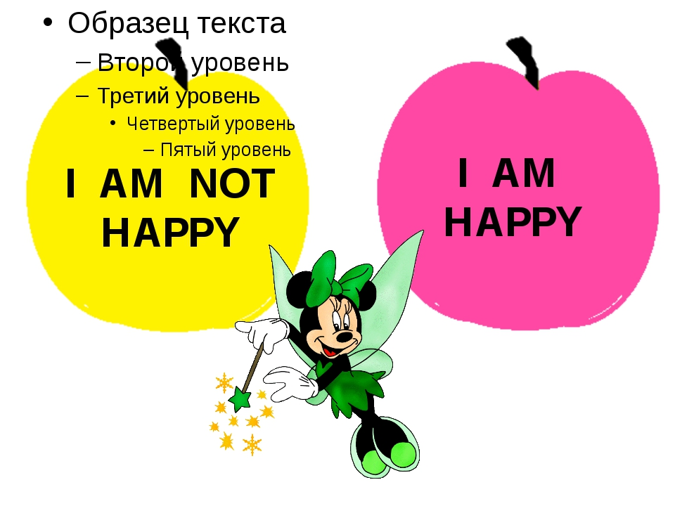 I AM HAPPY I AM NOT HAPPY